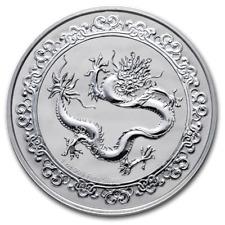 2019 Niue 1 oz Silver $2 Celestial Animals Dragon
