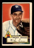 1952 Topps #90 Mickey Grasso VG X1312042