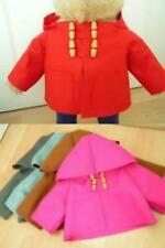"""REPLACEMENT DUFFLE COAT FOR AN 18"""" GABRIELLE PADDINGTON INCLUDES PRINTED LABEL"""