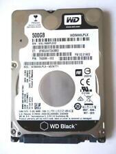 "Western Digital BLACK 🚩 WD5000LPLX 2.5"" 500GB Thin Laptop HDD 🚩 7200RPM SATA"