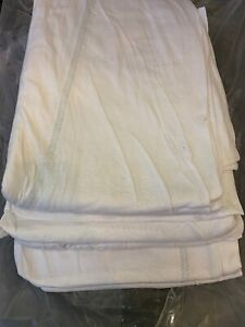 """6PK - Fitted Bed Sheets For Twin - Hospital Mattresses Style 86""""x38""""x9"""" New"""