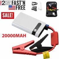 20000mah 12V Car Jump Starter Booster Auto Jumper Box Power Bank Battery Charger