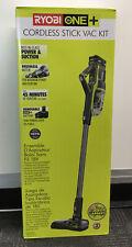 Ryobi P7181K 18V One+ Cordless Stick Vac Kit NEW
