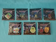 """IRON MAIDEN   """"LEGACY OF THE BEAST""""  PIN SET OF 7   NEW    2018"""