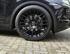 Winterräder 22 Zoll Porsche Cayenne S Turbo GTS  Hankook 295/30R22 schwarz glanz
