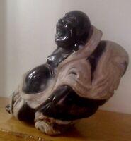 Dickbauch Buddha Hotai Edelstein c2774 gr c21 länge 17 cm höhe und 10 cm breite