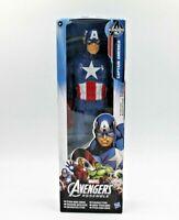 "Marvel Avengers Assemble Captain America Titan Hero Series 12"" Action Figure"