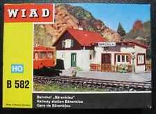 "WIAD B 582 - Bahnhof ""Bärenklau"" - Railway station - H0 Eisenbahn Bausatz Kit"