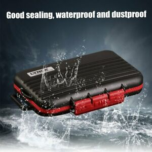 Memory Card Case Hard Storage Box Waterproof Protector Holder For SD/TF/CF Card