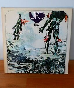 UFO Live 1972  VINYL LP RAR