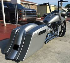 YAMAHA Road Star Extended Stretched bags & replacement fender & 6x9 lids 99 &up