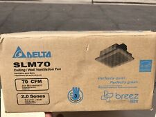 Delta Breez Slim Series 70 CFM Wall or Ceiling Bathroom Exhaust Fan SLM70