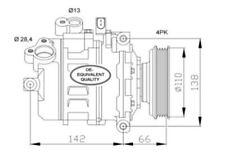 COMPRESSEUR DE CLIMATISATION AUDI A4 B6 ET AUDI A6 C5 1.9 TDI