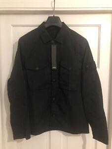 Stone Island Ghost Overshirt Black SS20