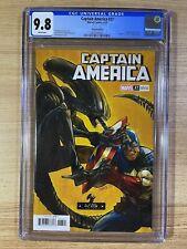 Captain America #27 (2021 Marvel) Ivan Shavrin Alien Variant CGC 9.8