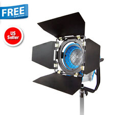 300W Fresnel Tungsten Studio Video Photo Lighting Light Spotlight w/ Bulbs New