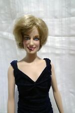Princess Diana Franklin Mint doll collector item 8 and up