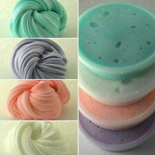 4 Farben Fluffy Slime Schlamm Schleim für Stressabbau Baby Spielzeug Set DE