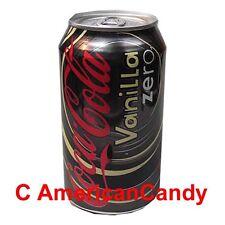 6x 355ml Coca Cola Vanilla Zero USA Import Softdrink (4,69€/l)