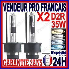 2 AMPOULES AU XENON D2R 35W HID LAMPE FEU PHARE EN LUMIERE BLANCHE BLEU BLEUTEE