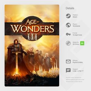 Age of Wonders III 3 (PC) - Steam Key [GLOBAL, MULTI-LANG, INSTANT]