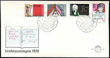 Netherlands 1978 Child Welfare FDC First Day Cover #C27640