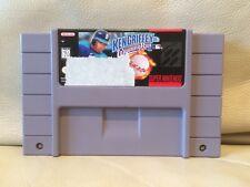 Ken Griffey Jr's Winning Run - Nintendo Super NES American SNES NTSC Game Cart