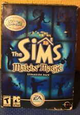 The Sims Makin' Magic Expansion Pack with Bonus Sims 2 Preview PC CD-ROM