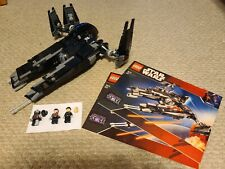 Lego Star Wars 7672 Rogue Shadow 100% Complete Including Mini Figures! NO BOX!