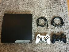 Gepflegte Playstation 3 Slim + 2x Controller + 14 Spiele + Kabel