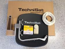 Original TechniSat Digidish45 mit TechniSat Quad-LNB(4Teilnehmer) anthrazit  neu