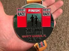 Best Damn Race Safety Harbor Florida 5K & 10K Challenge 2016 Medal