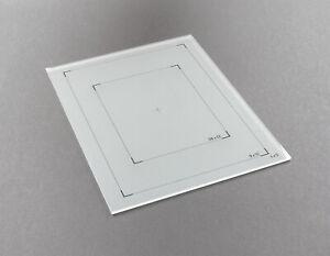 Linhof Super Focussing Screen 4x5 9x12 für Technika, Kardan, Technikardan