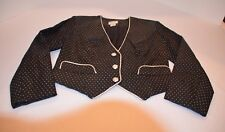 Hobby Horse  Clothing Co. Inc Show Jacket Black and Silver