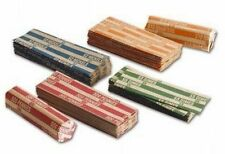 200 Assorted Coin Wrappers (50 of each: Penny, Nickel, Dime, Quarter)