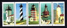 2470-74 - Lighthouses Strip of 5 MNH
