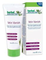 Herbal Skin Doctor Vein Vanish Cream 100% Natural Targets Spider Capillaries
