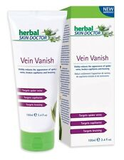 Herbal Skin Doctor Vein Vanish Cream 100% Natural Targets Spider Capillaries