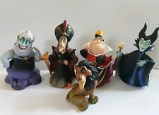 5 disney figures jafar scar queen of hearts ursula maleficent cake toppers