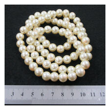 1 STRING GLASS PEARL BEADS *23 COLOURS* *6 SIZES* BEADING JEWELLERY MAKING