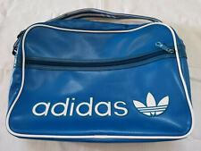 Adidas Mens Sport  Messenger Bag Blue  Cross Body Shoulder Vintage 90s