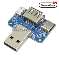 USB Head Male USB Connector to Type-c Micro Female USB 2.54mm 4P USB adapter