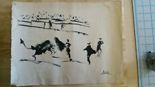 Pablo Picasso Vintage signed painting