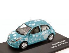 NISSAN MICRA BUBBLE VERSION BLUE 2007 JCOLLECTION JC210 1/43 BULLE