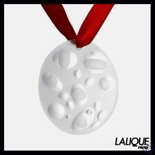 New Sealed Box Lalique France 2007 Icy Bubbles Ornament $155 - 100% Authentic