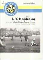 OL 77/78  1. FC Lok Leipzig - 1. FC Magdeburg