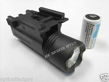ADE Quick Release Tactical 200 Lumen Led Cree Powered Pistol Flashlight Light