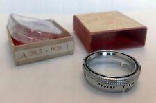 Zeiss Ikon 28.5mm Proxar F = 1m empuje cerrar lente