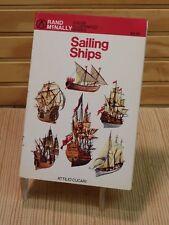 Sailing Ships - Attilio Cacari - Color Illustrated Guide Rand McNally Paperback