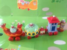 In The Night Garden Small Ninky Nonk Train Figure - VGC - Ideal Cake Topper!